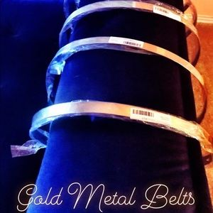 💙Gold Metal Belts💙